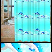 Tirai Kamar Mandi/ Curtain Shower Gorden Dolphin/ Gorden Shower