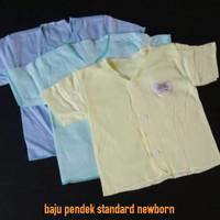 atasan baju bayi pendek baby newborn baru lahir polos warna