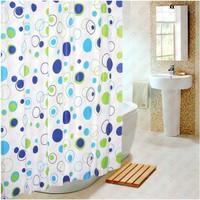 Curtain Shower/ Gorden Kamar Mandi Pulkadot Lucu/ Tirai Shower