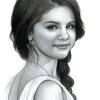 Size A5 - Sketsa wajah / Lukisan wajah / Portrait drawing / Sketch