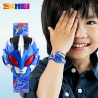 Jam tangan robot anak, jenis jam digital, dan jam muncul jika ditekan