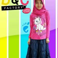 baju setelan muslim size 8 10 12 baju setelan anak murah karakter mari