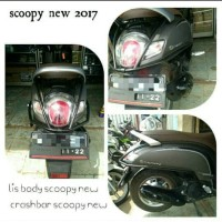 Aksesoris scoopy new 2017 list body