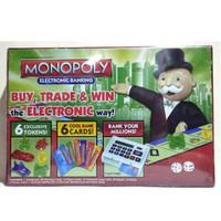 Mainan Monopoly banking electronic