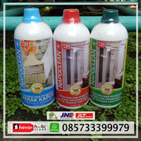 Napoclean Heavy Duty, Napoclean Strong, Napoclean Limescale Remover.