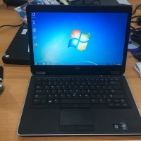Laptop bekas Dell Latitude e7440 Core i5 Gen 4th SSD 128GB bergaransi
