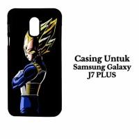 Casing Samsung J7 PLUS Dragon Ball Z Vegeta Custom Hard Case Cover