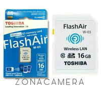 WIFI SDHC / SD Card Toshiba FlashAir 16GB Class 10 class10 eye-fi