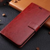 LEATHER KULIT FLIP COVER WALLET CASING LENOVO VIBE K5 PLUS/ K5 CASE