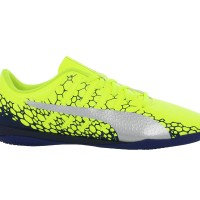 Sepatu Futsal Puma Evopower Vigor 4 Graphic Kuning Original Asli Murah