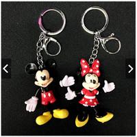 Aksesories m0bil Gantungan Kunci Kartun Disneyland Mickey Minnie Mouse