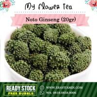 NotoGinseng Flower 20gr / Noto Ginseng Tea
