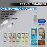 Travel CHARGER 2A / 2 Amper HP SMARTPHONE LED Xiaomi,oppo,asus,vivo,ad
