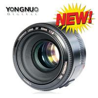 Jual Lensa fix YONGNUO YN 50mm f1.8 AF Aperture Auto Focus for Canon Murah
