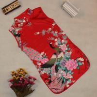 cheongsam cheong sam imlek merah red anak perempuan dress murah sale