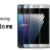 Tempered Glass Full Cover Samsung Galaxy Note FE Fan Edition