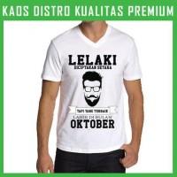 Kaos V-neck Lelaki Terbaik Oktober 6 VNK-TAK70