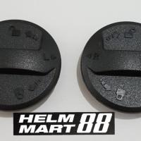 Baut visor Zeus 811 kuncian ZS811 sparepart baut helm ORI