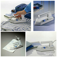 Setrika,Mini,Kecil,Lipat,Travel Iron Philips HD-1301 (Asli)