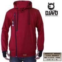 Jaket / Sweater Djavu Harakiri Merah