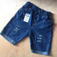 SUPER SELLER Celana Pendek Anak Jeans Ripped Stik Balik