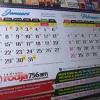 Kalender Dinding RODJA ( Masehi plus Hijriyah)