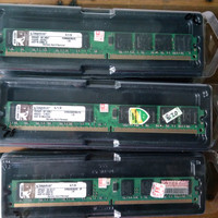 Ram 2gb ddr2 kingston/hynix/samsung dll