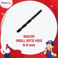 Mata Bor Nachi 8.0 mm / Drill Bits HSS / Mata Bor HSS