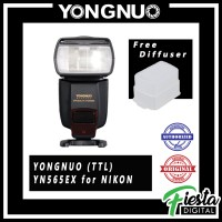 Lampu Flash Speedlite Yongnuo YN565EX (TTL) for NIKON + Free Diffuser