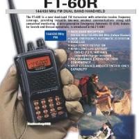 Yaesu Ft 60R Dual Band Vhf/uhf Original Baru Berkualitas