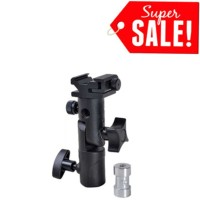 Harga new model type h flash hot shoe umbrella holder mount bracket for | Pembandingharga.com