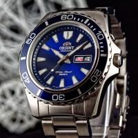 ARLOJI JAM TANGAN DIVER ORIENT MAKO XL BLUE FEM75002D ORIGINAL ORI