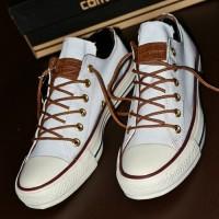 ad22e7c9a670 Sepatu Converse Chuck Taylor Classic Premium BNIB   Full Putih   CL 14