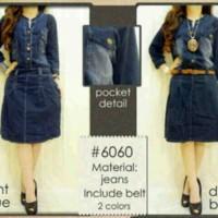 DRESS MURAH DRESS MUSLIM dress jeans 6060 fit XL-xxL TERBARU