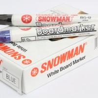 Spidol Papan Tulis Whiteboard Snowman BG - 12