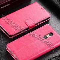 Xiaomi Redmi Note 4 Pro - 4x Flip Wallet Leather Case S Murah