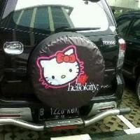 sarung ban/cover ban gambar hello kitty&marsha Diskon