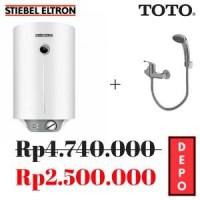 Pemanas air Stiebel Eltron 15 liter dan TOTO TX433SD & Diskon