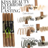 Brow Secret Kiss beauty ( lasting 1 day eyebrow tattoo ) 2 in 1