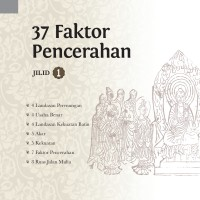 Buku 37 Faktor Pencerahan jilid 1 Master Cheng Yen - Buku Agama Buddha