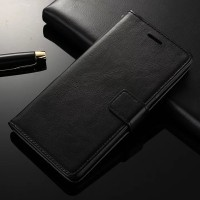 CASING LEATHER KULIT FLIP COVER WALLET LENOVO VIBE K5 PLUS/LEMON 3/K5