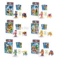 SL toys lego mini figure paw patrol @ 6 pcs