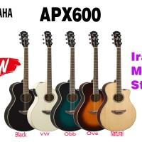Gitar Akustik Elektrik Yamaha APX600 / APX 600 ( penerus APX500 500 )