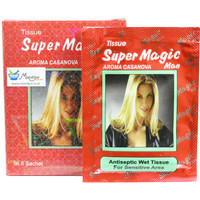 Tissue / Tisu Super Magic Man Aroma Casanova 1 kotak isi 6