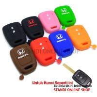 Silicone Remote Cover Kondom Kunci Honda New Mobilio Brio BRV HRV