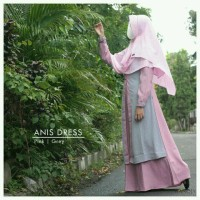 Anis Dress by Wanoja - Gamis Premium
