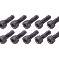 M2 x 6mm Screws 10pcs - Socket Head- Black