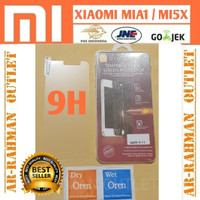 XIAOMI MIA1 MI A1 5X MI5X anti gores tempered glass bening layar hp 9H
