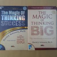 "Buku Motivasi "" The Magic of Thinking Big & Success David J Schwartz"