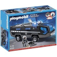 PLAYMOBIL 5564 CITY ACTION TACTICAL UNIT COMMAND SWAT VEHICLE not lego